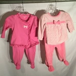 Other - Baby girl outfits barely worn in perfect pinks
