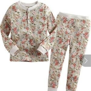 Other - 🍼Girls Two-Piece Floral Print PJ's NWT
