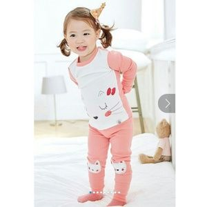 Other - 🍼Girls Two Piece PJ Set- NWT