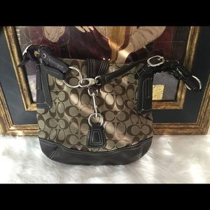 Coach Handbags - Coach Brown Handbag