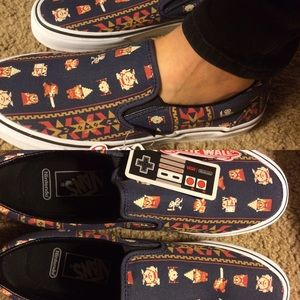 Vans Shoes - NEW VANS X NINTENDO ZELDA SLIP ON mens 8 woman 9.5