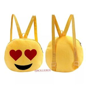 Handbags - Heart Emoji Backpack