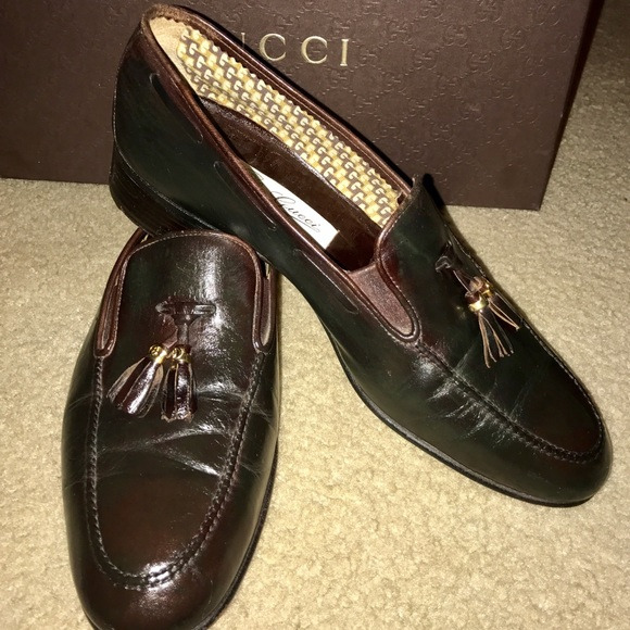 Gucci Shoes | Mens Gucci Tassel Loafers