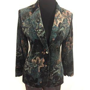 Vintage Jackets & Blazers - Gorgeous Vintage Velvet Blazer