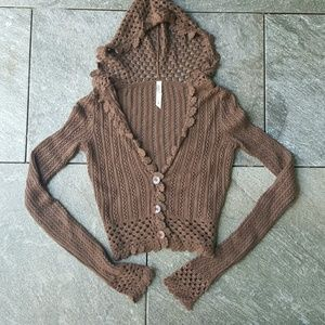Lilu Tops - PacSun Cropped Hooded Sweater