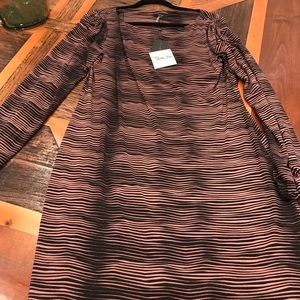 Tart long sleeve dress L NWT