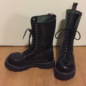 Steel Brand 5 Eye Steel Toe Boots