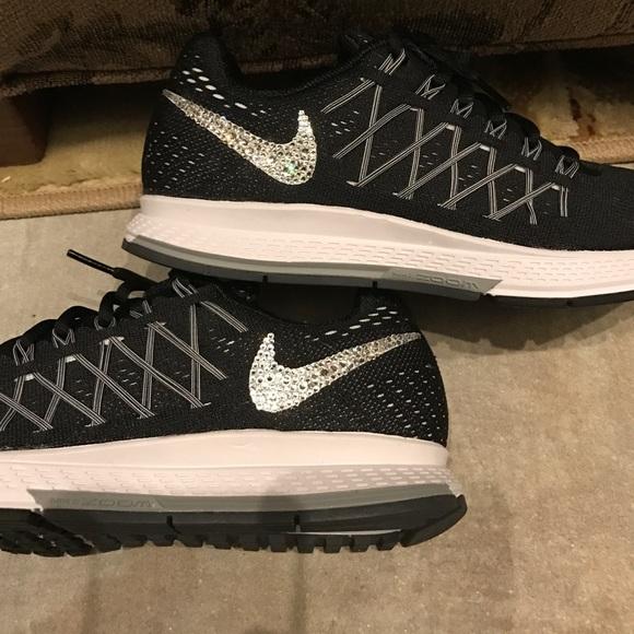 Nike Shoes Womens Pegasus 32 With Swarovski Crystals Poshmark