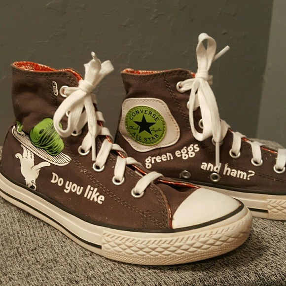 Converse Other - Dr. Seuss Green Eggs and Ham Chuck Taylor Shoes b8bc3191f