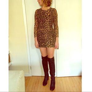 Rodarte Dresses & Skirts - ❤SALE Rodarte for Target Leopard Mini Dress S (5)