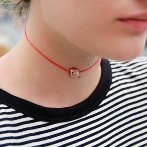 Bullet Top Choker Necklace - Scarlett