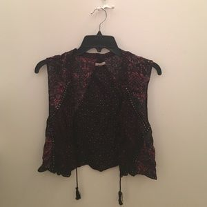Ecote Other - Cute patterned vest from urban outfitters