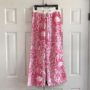 """RARE Lilly Pulitzer Linen """"The Beach Pant"""""""