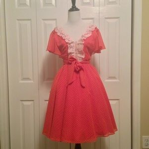 Authentic Vintage Housewife Dress Size 4 Small