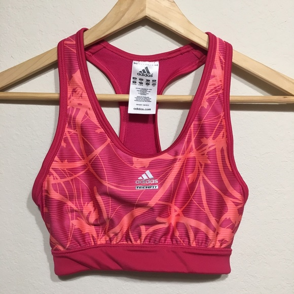 317d844d41c05 Adidas Other - ADIDAS ClimaCool TechFit Sports Bra. Pink   Orange