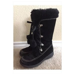 Rachel Other - Rachel Shoes Girls 2 Mila Black Boots Lace Zipper