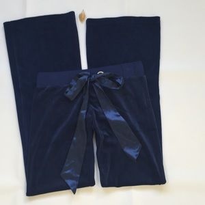 Beach Bunny Other - Beach bunny blue lunge velour pants size XS