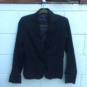 Marc Jacobs Jackets & Blazers - MARC JACOBS Black Blazer with Flower Button
