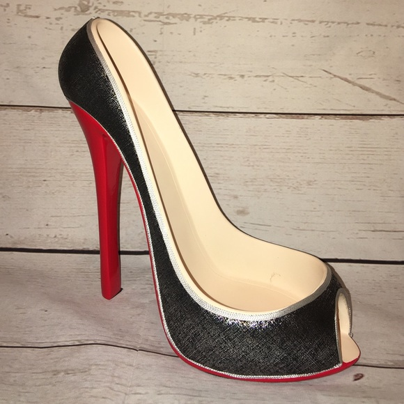 christian louboutin wine bottle holder