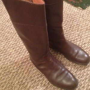 ❤️Corso Como Brown Riding Boots 7.5 Leather EUC