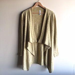 Soybu Sweaters - Soybu lightweight draped cardigan sweater
