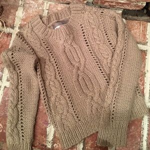 Cozy knitted sweater!