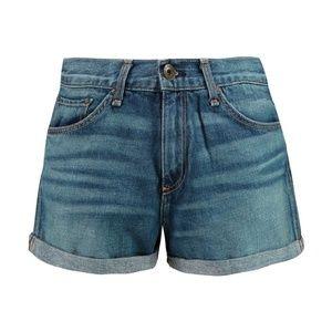 rag & bone Pants - Rag & Bone Devon Sigrun Jean Denim Shorts