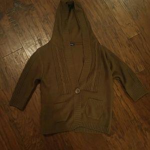 wishy washy Sweaters - Brown knit sweater