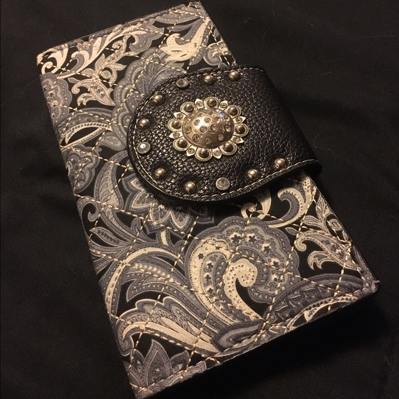 Rustic Couture Bags - Paisley Wallet Clutch