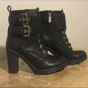 Guess by Marciano Shoes - BRAND NEW! Never worn Guess Finlay Lace-Up Booties