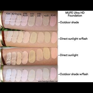 Makeup Forever Hd Foundation Shade 117 Y225 Marble
