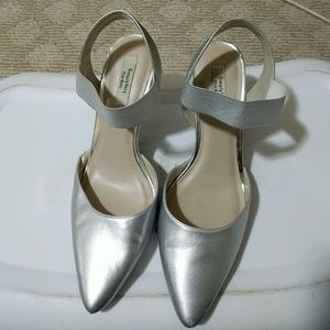 Vera Wang Shoes - Silver Heels