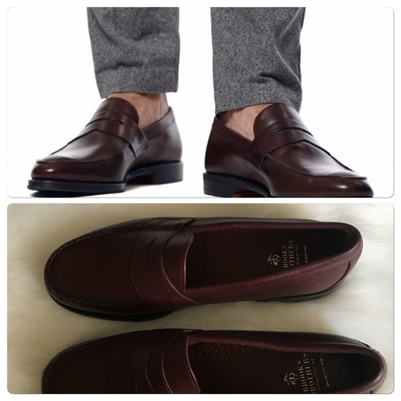 a876a90b315 ⏰Brooks Brothers Classic penny loafers NWOT