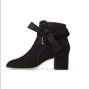 "Rag and Bone ""Dahlia"" black suede booties"