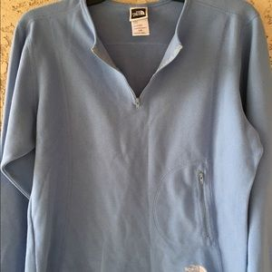 The North Face Large sweater pullover fleece half