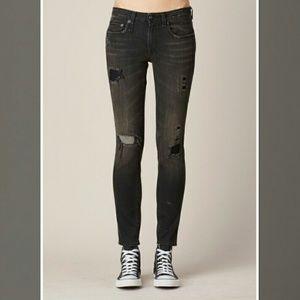 R 13 Denim - R13 Alison skinny cropped jeans