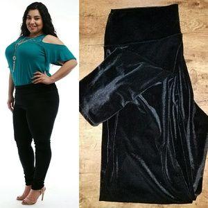 Pants - Plus size velvet leggings 1x 2x 3x
