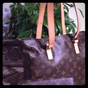 Louis Vuitton Handbags - Retired Cabas Piano 2005