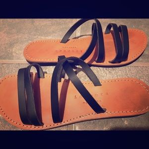 Shoes - Isapera sandals - size 9. Made in Greece.