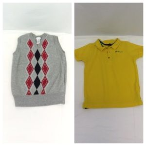 Ben Sherman Other - BOYS SWEATER VEST & SHIRT