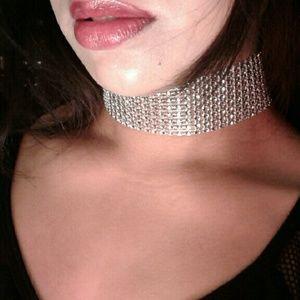 Monstar Luxx  Jewelry - HANDMADE Diamond Choker | Rhinestone, crystal,slay