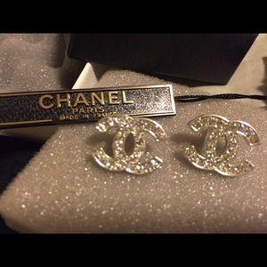 CHANEL Jewelry - Chanel 2015 Classic CC Stud earrings Brand New box