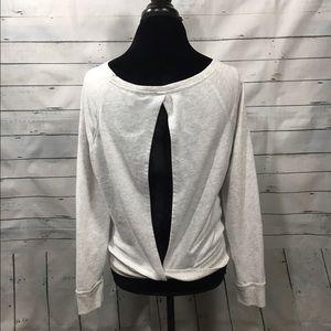 Victoria's Secret Tops - Victoria's Secret sexy open back sweatshirt