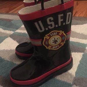 washington shoe co Other - Boys fireman rain boots NWT
