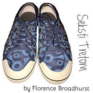 Tretorn Shoes - 🔵Tretorn Seksti Sneakers by Florence Broadhurst