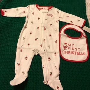 carters Other - Christmas baby pjs