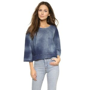 Cheap Monday Tops - Cheap Monday Crop Sweatshirt, XS