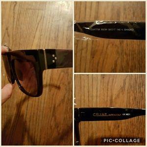 511e246814e2 Celine Accessories - CELINE ZZ-TOP Black Sunglasses STUNNING