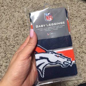 Other - Denver Broncos baby leggings