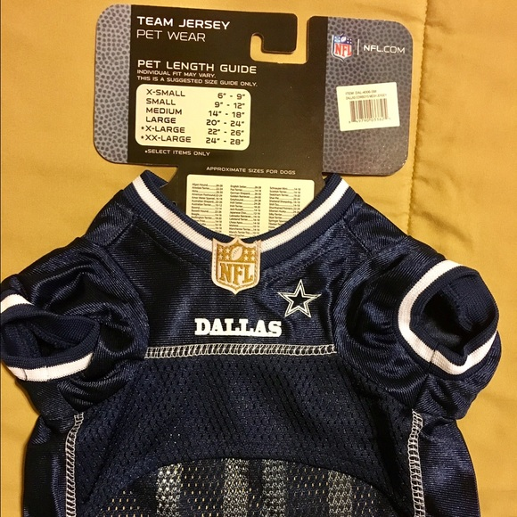 1e57ae66876 ... Pets First Other - Dallas Cowboys NFL Football Dog Jersey ...